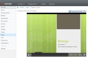 Bio lecture video